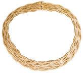 Buccellati 18K Woven Collar Necklace