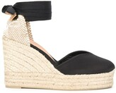 Castaner Chiara lace-up wedge espadrilles