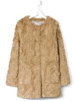 Hartford Kids faux fur coat