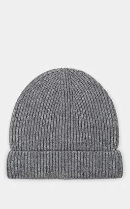 Barneys New York Men's Rib-Knit Cashmere Hat - Gray