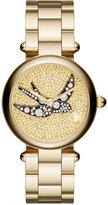 Marc Jacobs Women's Dotty Gold-Tone Stainless Steel Bracelet Watch 34mm MJ3498