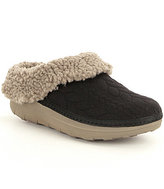 FitFlop Loaff Quilted Faux-Shearling Slippers
