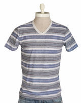 Lucky Brand Vintage Stripe V-Neck T-Shirt