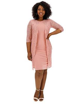 Gina Bacconi Lace 2 in 1 Dress