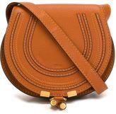 Chloé Mini Marcie cross-body bag - women - Cotton/Calf Leather - One Size