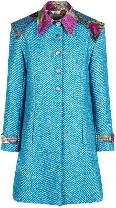 Sika'a Agatha Wool Blend Herringbone Coat