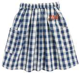Bobo Choses Jane Check Skirt