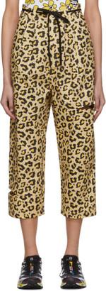 Perks And Mini White Leopard Bri Bri Jeans