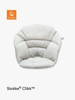 Stokke Clikk Baby Highchair Cushion, Grey Sprinkles