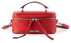 Miu Miu Women's Medium Leather Beauty Satchel