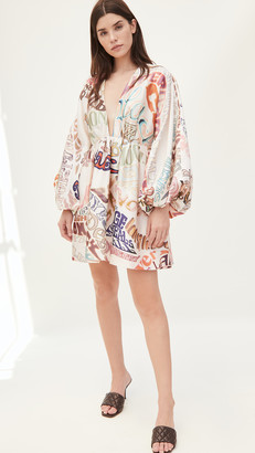 Zimmermann Ladybeetle Word Mini Dress