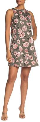Love Moschino Allover Rose Print Dress