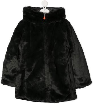 Save The Duck Kids Fury faux fur coat