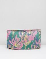 Asos Bright Brocade Clutch Bag