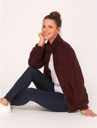 M&Co Teddy zip up fleece