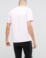 HUF T-Shirt With Back Box Logo