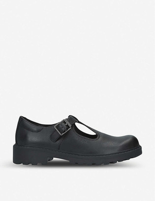 Geox Casey T-bar leather shoes 8-10 years