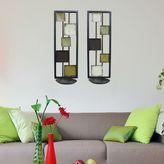 Framed Squares 2-Piece Sconce Set