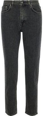 Acne Studios Faded High-rise Straight-leg Jeans