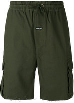 Les (Art)ists frayed hem shorts - men - Cotton - L