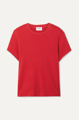 RE/DONE 70s Supima Cotton-jersey T-shirt - Red