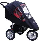 Tike Tech Single City X3 All Season Stroller Cover, Black/Clear