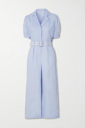 Faithfull The Brand Frederikke Belted Linen Jumpsuit