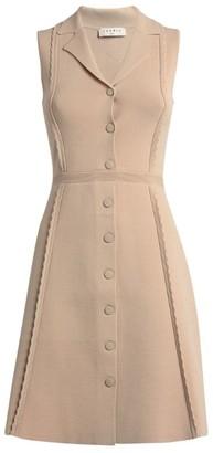 Sandro Paris Stretch-Knit Mini Dress
