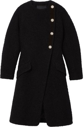Proenza Schouler Boucle tweed coat