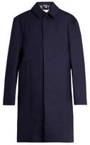 Vetements X Mackintosh open-back raincoat