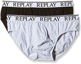 Replay Men's Pack 2 Retro NOOS Boxer Shorts