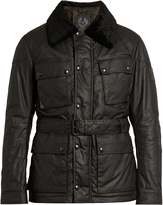 Belstaff Circuitmaster shearling-collar jacket