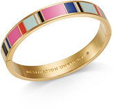 Kate Spade Gold-Tone Multicolor Bangle Bracelet