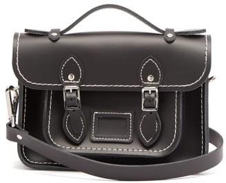 COMME DES GARÇONS GIRL X The Cambridge Satchel Company Leather Bag - Black