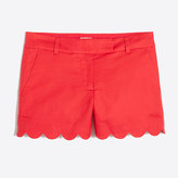 "J.Crew Factory 4"" Scallop-Hem Short"