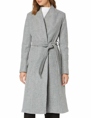 Find. Amazon Brand Women's Long Belted Coat