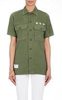 Icons Women's Fatigue Shirt-Green, Dark green