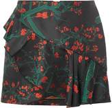 Vero Moda Ruffle floral mini skirt
