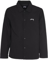 Stussy Black Coach Jacket