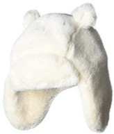 UGG Faux Fur Trapper with Ears Hat (Toddler/Little Kids) (Ivory) Knit Hats