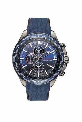 Nautica Unisex Adult Quartz Watch with Silicone Strap NAPOBP903