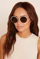 Forever 21 Contrast Round Sunglasses
