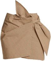 Etoile Isabel Marant Ninon mini check-print skirt