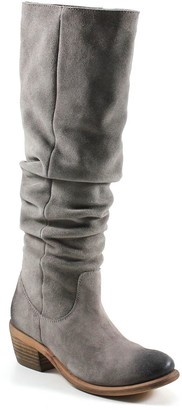 Diba True Full-Shaft Leather Western Boots - Line Walker