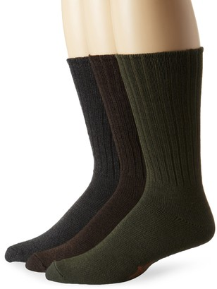 Dockers Big-Tall 3 Pack True Crew Socks