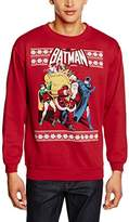 Batman Men's Robin & Santa Long Sleeve Jumper