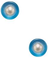 Alexis Bittar Pearl Stud Earrings