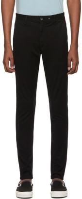 Rag & Bone Black Fit 1 Classic Chino Trousers