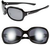 Oakley Women's 'Pulse' 61Mm Sunglasses - Metallic Black