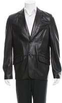 Versace Studded Leather Jacket